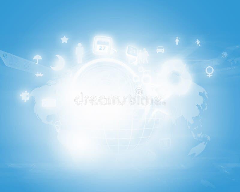 Download Digital background stock illustration. Image of desktop - 33386868