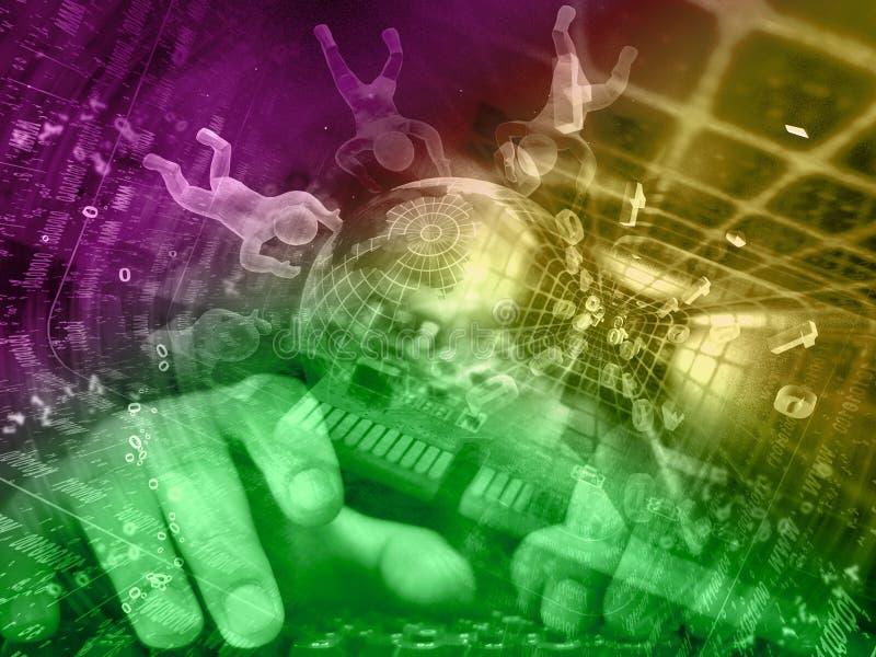 digital bakgrund arkivbild