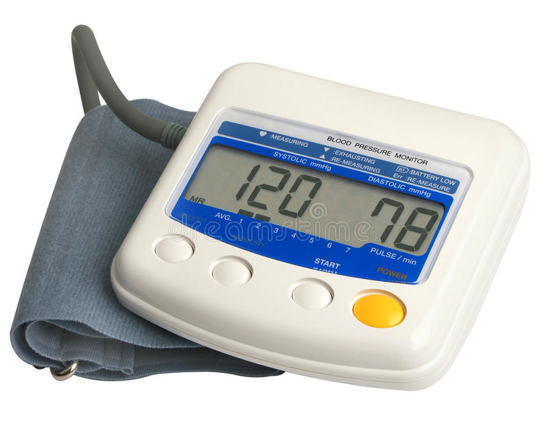 Download Digital Blood Pressure Gauge Royalty Free Stock Photography - Image: 11482867
