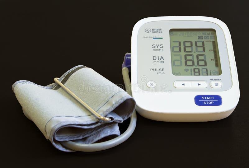 Digital Blood Pressure Meter Stock Photos