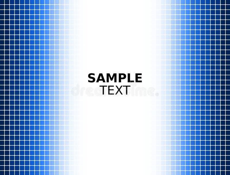Digital Blue Square Background stock images
