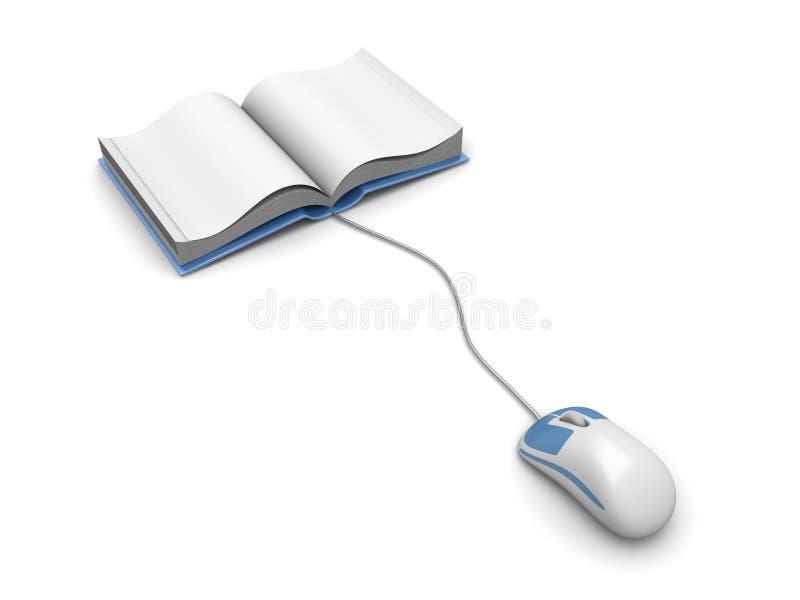 Digital Book stock illustration