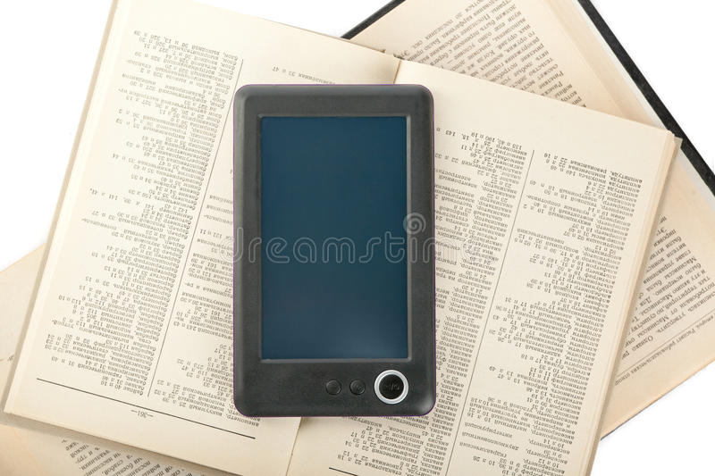 Download Digital book reader stock photo. Image of blank, mobility - 22929722