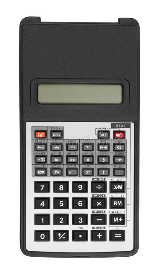 Download Digital calculator stock photo. Image of black, digital - 22499614