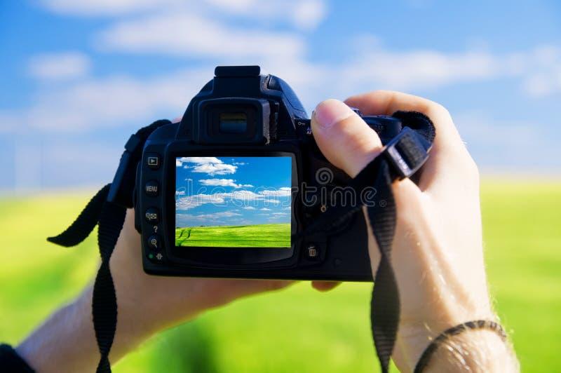 Digital camera royalty free stock photo