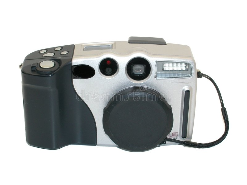 Digital camera 2 royalty free stock photo