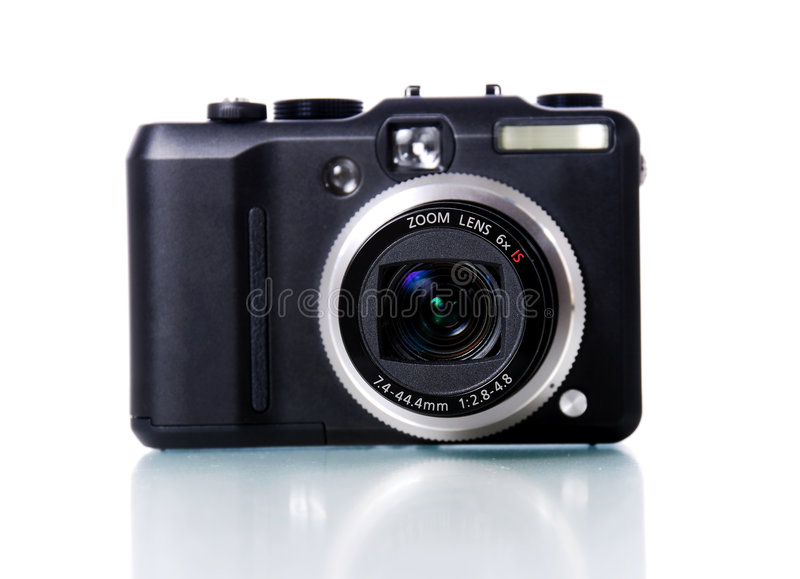 Digital camera stock photos