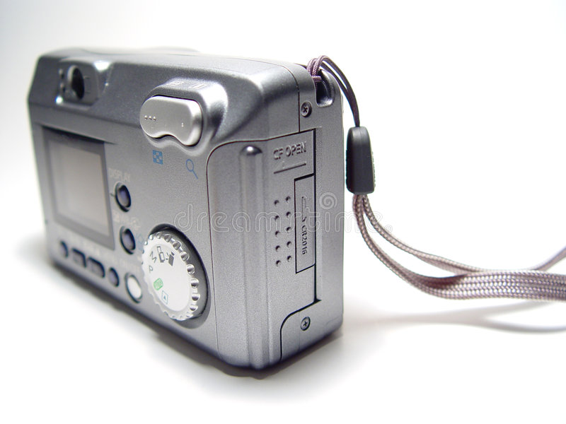 Digital Camera - Full View royalty free stock photography
