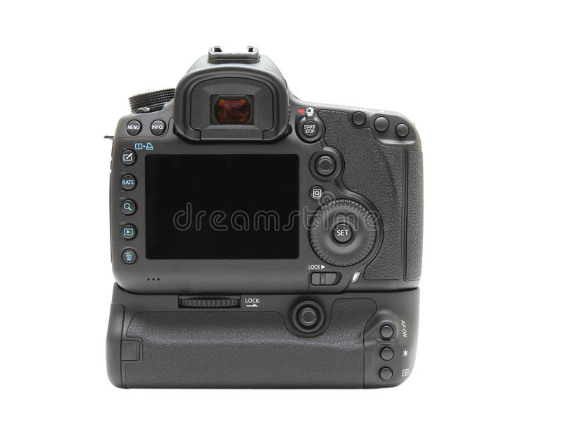 Digital camera rear display screen stock photo