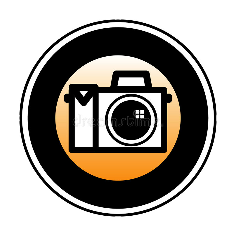 Digital Camera Symbol vector illustration
