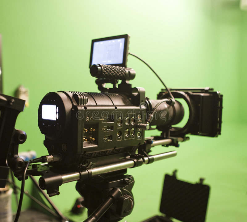 Free Digital Cinema Camera Stock Photography - 7170492