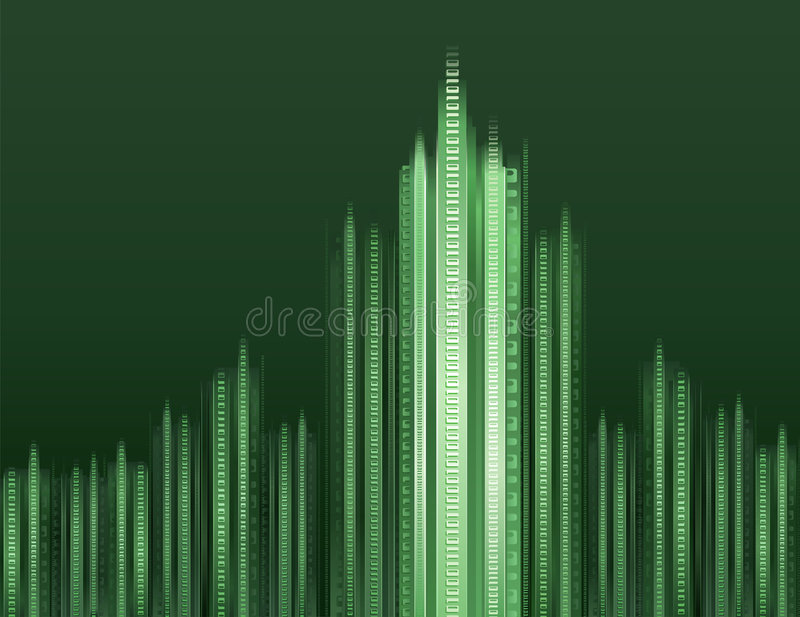 Download Digital cityscape stock vector. Image of illustration - 2015589