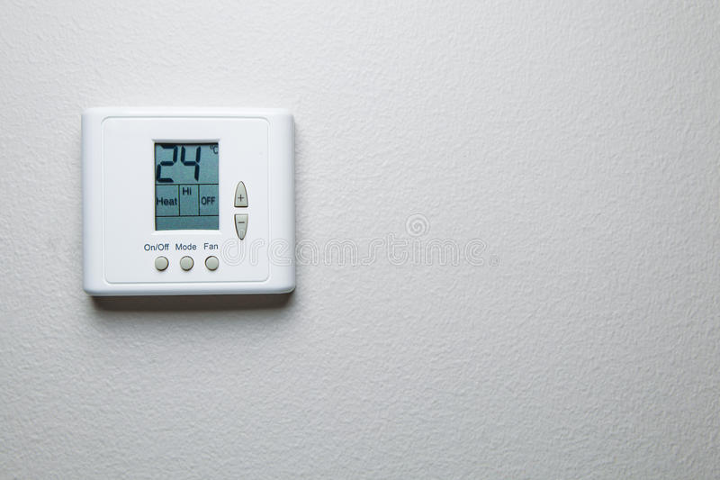 Download Digital climate control stock photo. Image of digit, celsius - 28114452