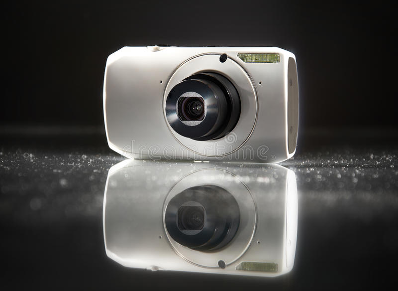 Download Digital Compact Camera stock photo. Image of shutter - 22975772