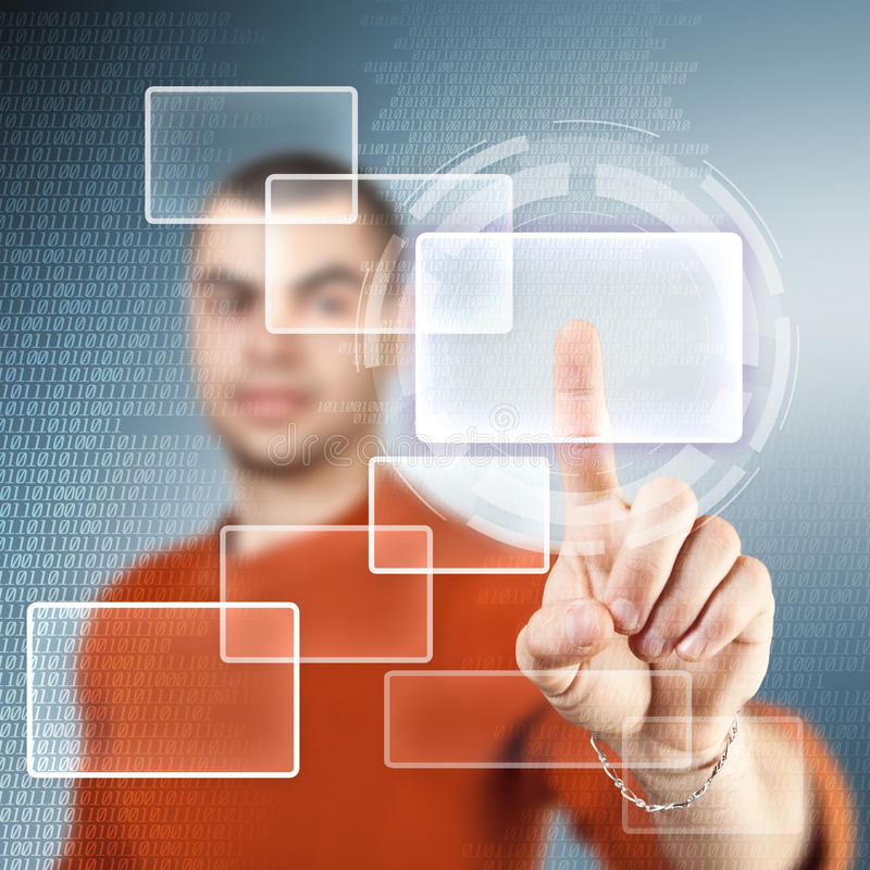 Download Digital concept stock illustration. Image of connection - 27820428