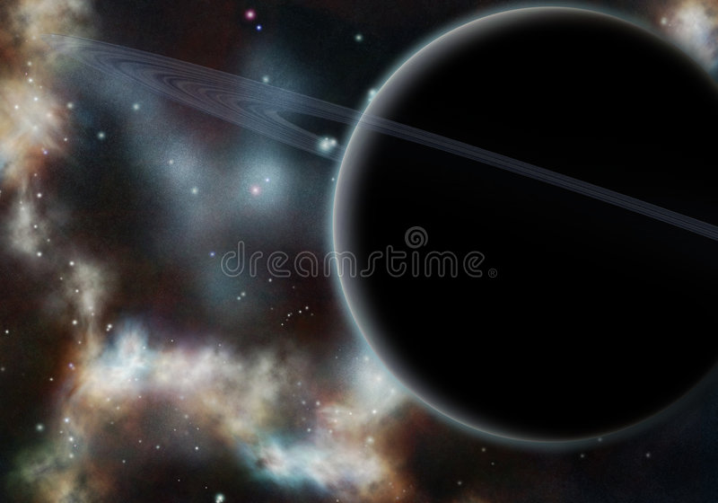 Download Digital Created Starfield With Cosmic Nebula Stock Image - Image: 5879253