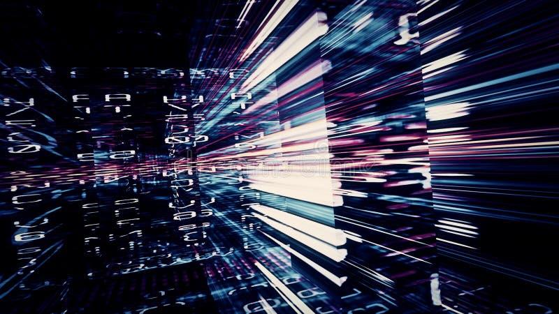 Digital Data Chaos 0399 stock photo