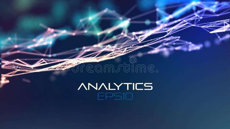 Digital design concept. Information element. Technology background. Abstract analysis for concept design. Global network stock illustration
