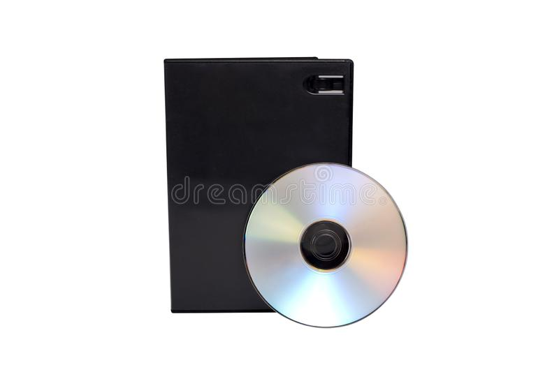 Digital Disc, Recording Media With Blank Cover stock photo