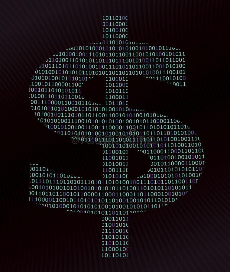 Digital-Dollar lizenzfreie stockfotografie