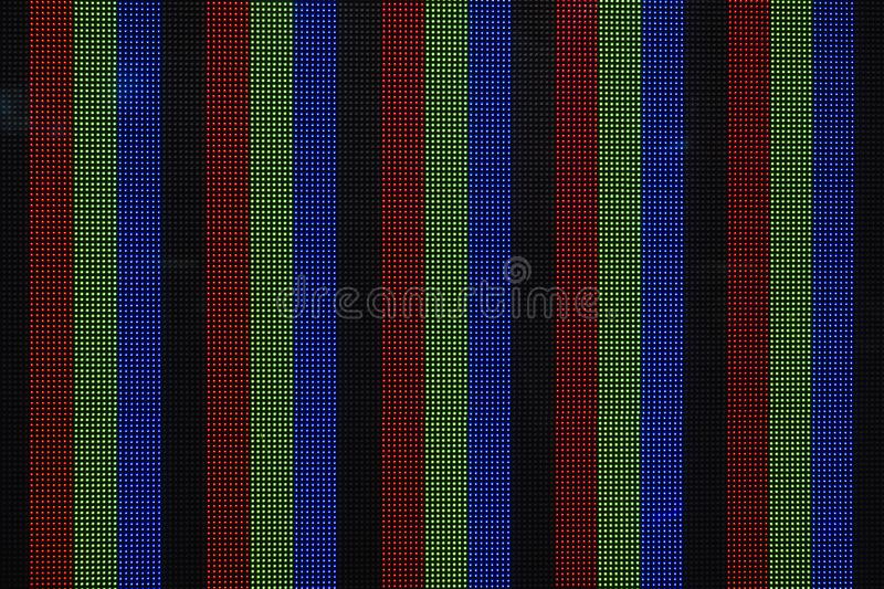 Digital dot colourful Pattern on screen Technology background royalty free stock image