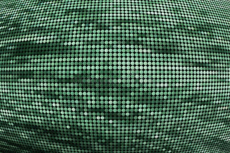 Digital dots stock images