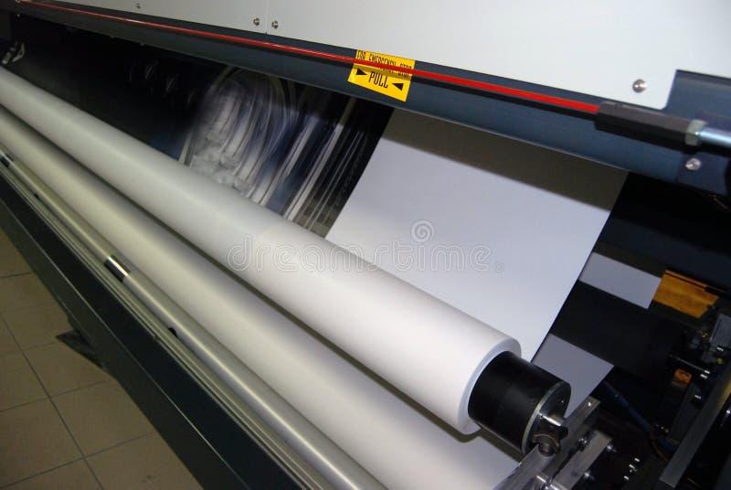 Digital-Drucken - breites Format stockfotografie