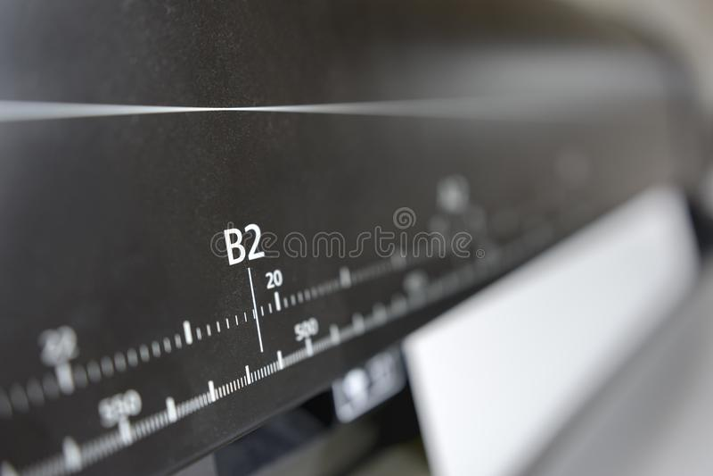 Digital-Druckmaschine stockfotos