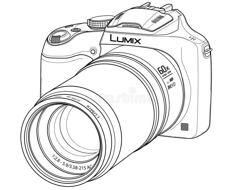 digital dslr för kamera arkivbild