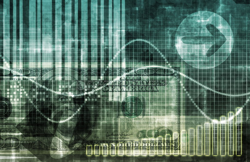Digital Economy stock illustration