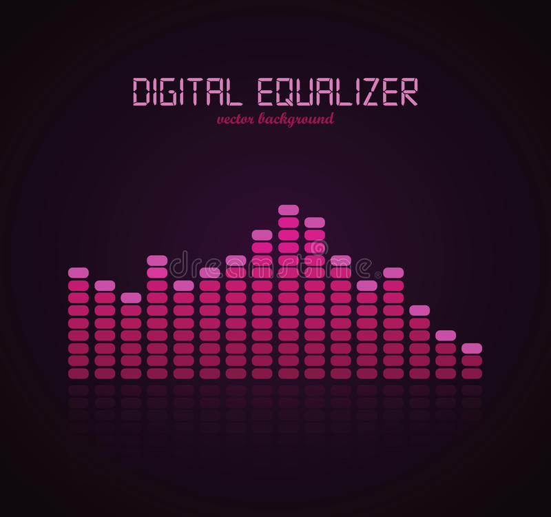 Download Digital Equalizer stock vector. Image of graphic, image - 21864507
