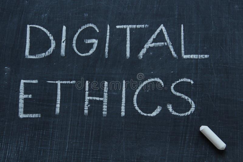 Digital etik royaltyfria foton