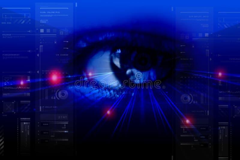 Download Digital eye stock illustration. Illustration of black - 16188049