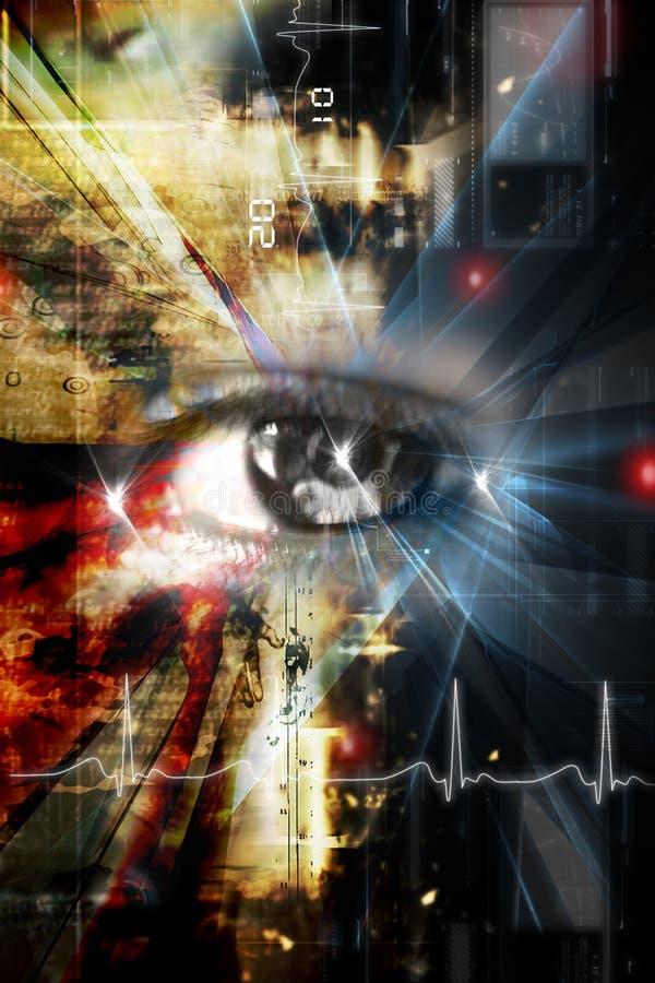 Digital Eye Stock Photos