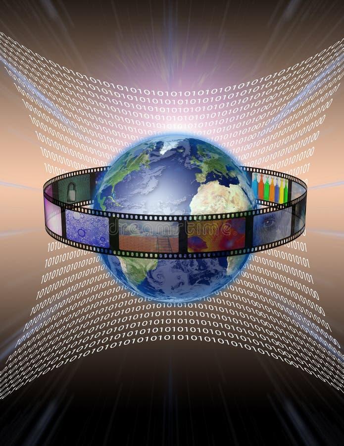 Digital Film stock illustration