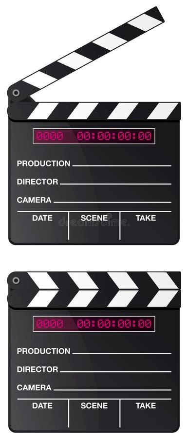 Digital-Filmscharnierventilvorstand getrennt lizenzfreie abbildung