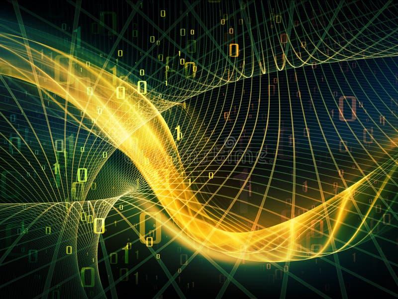 Download Digital Fractal Realms stock illustration. Image of computation - 34374909