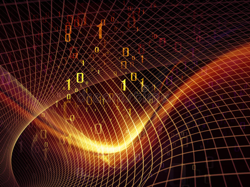 Download Digital Fractal Realms stock image. Image of byte, answer - 34528465