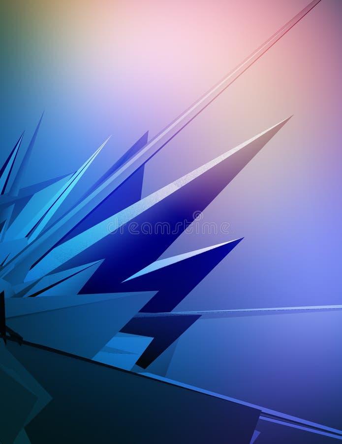 Digital fusion stock illustration