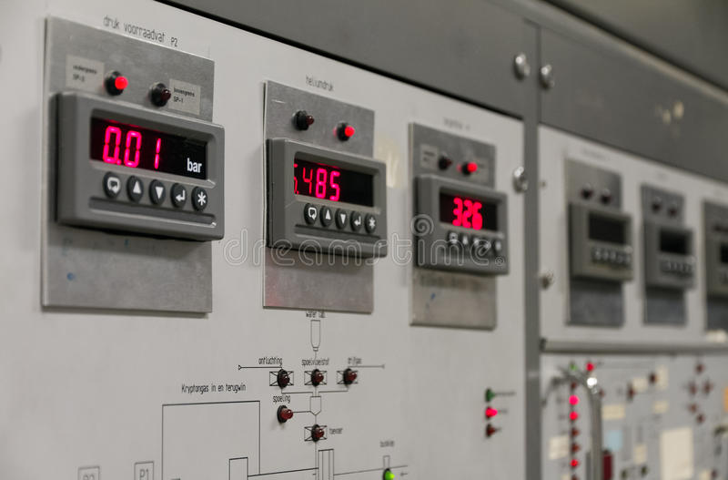 Download Digital gauges stock image. Image of console, board, display - 25917271