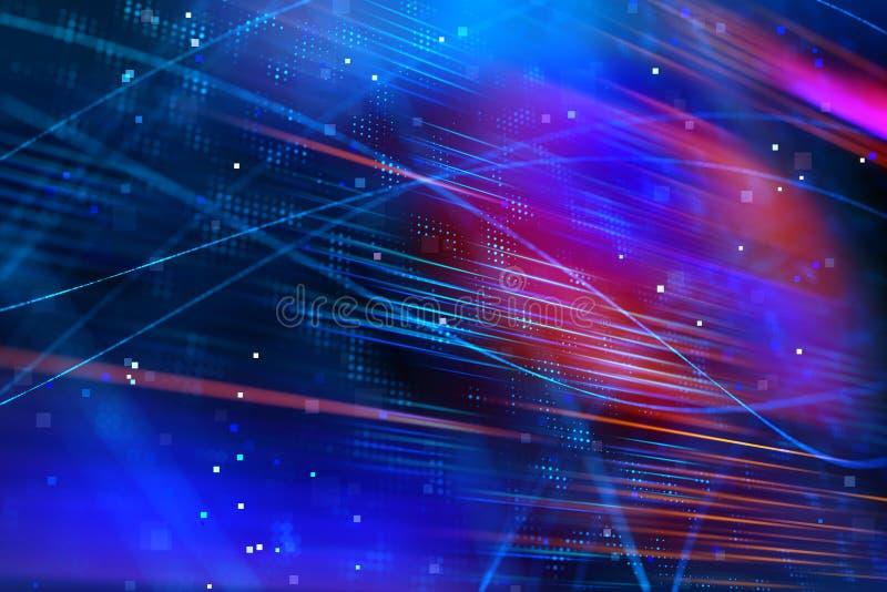 Digital geometrisk bakgrund vektor illustrationer