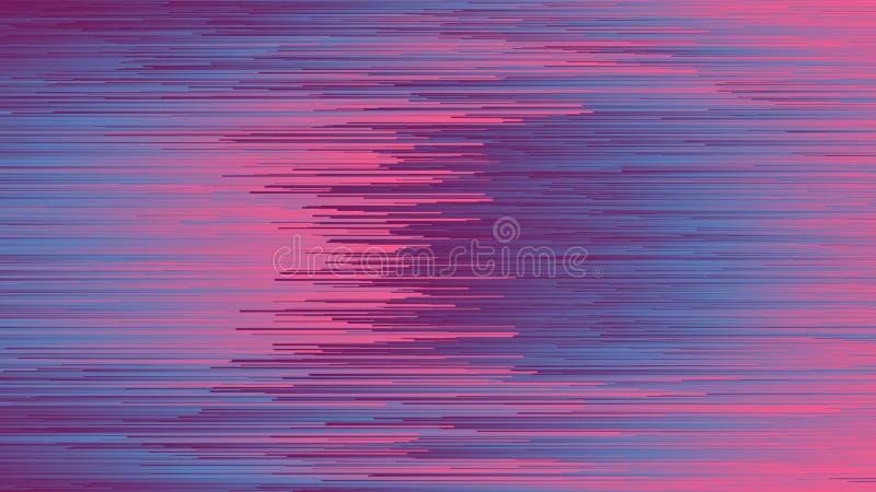 Digital Glitch Art Abstract Background royalty free illustration