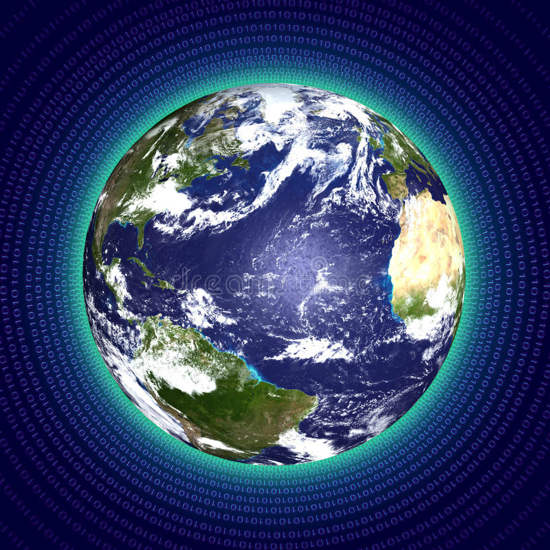 Download Digital Globe Stock Image - Image: 18125281