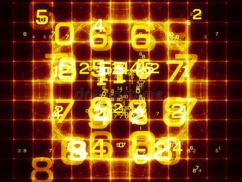 Digital Grid vector illustration