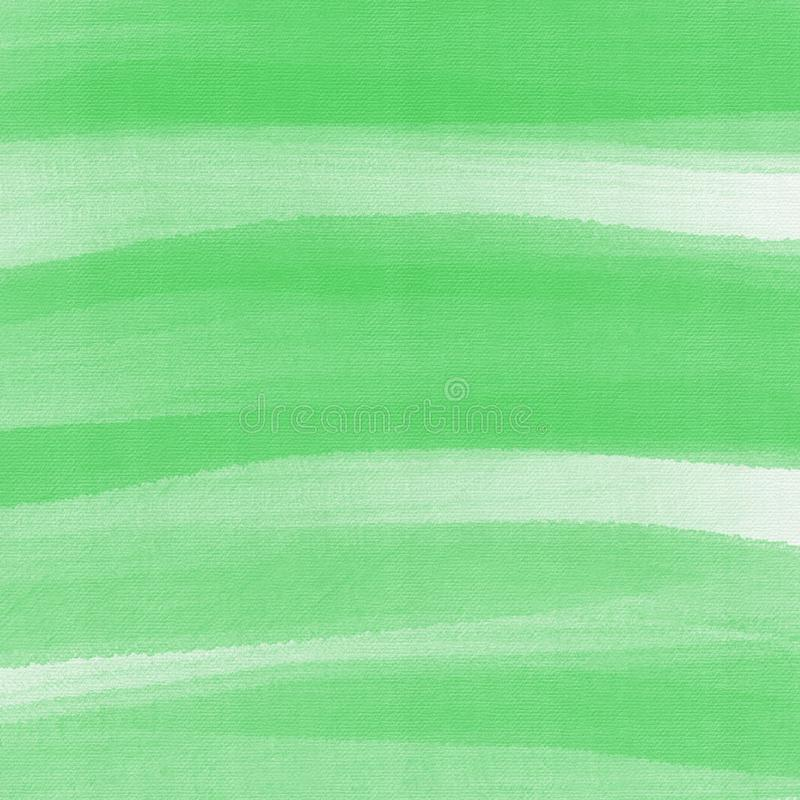 Grunge hand painted green abstract textured background royalty free illustration