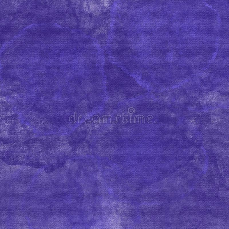 Grunge hand painted purple abstract textured background royalty free illustration