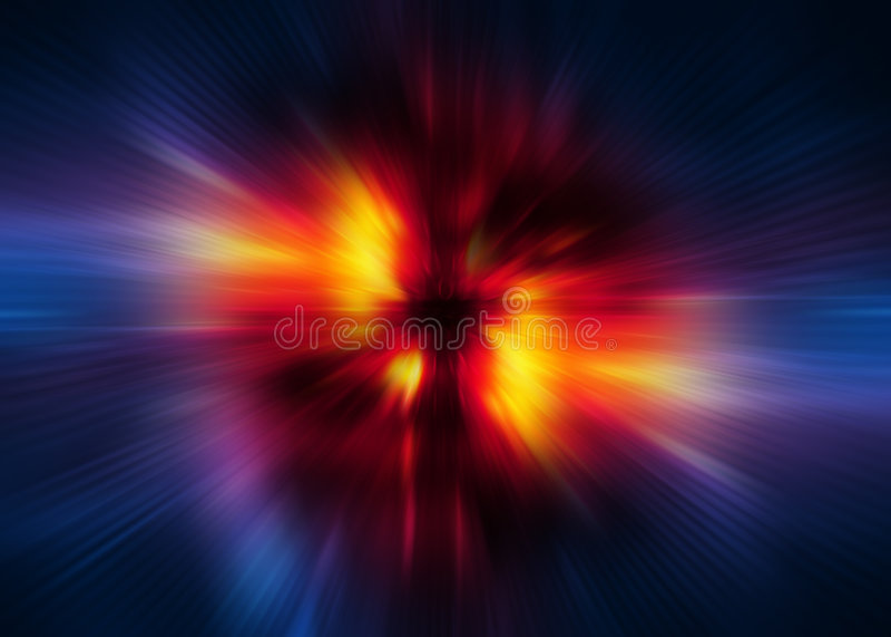 digital hastighetswarp för bakgrund royaltyfri illustrationer