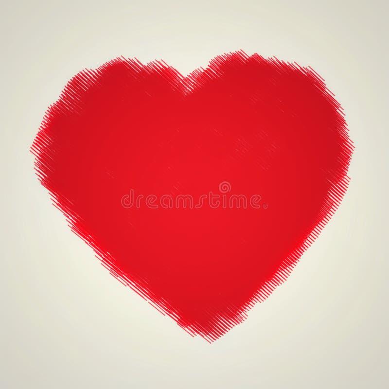 Digital-Herzkunst stockfotografie