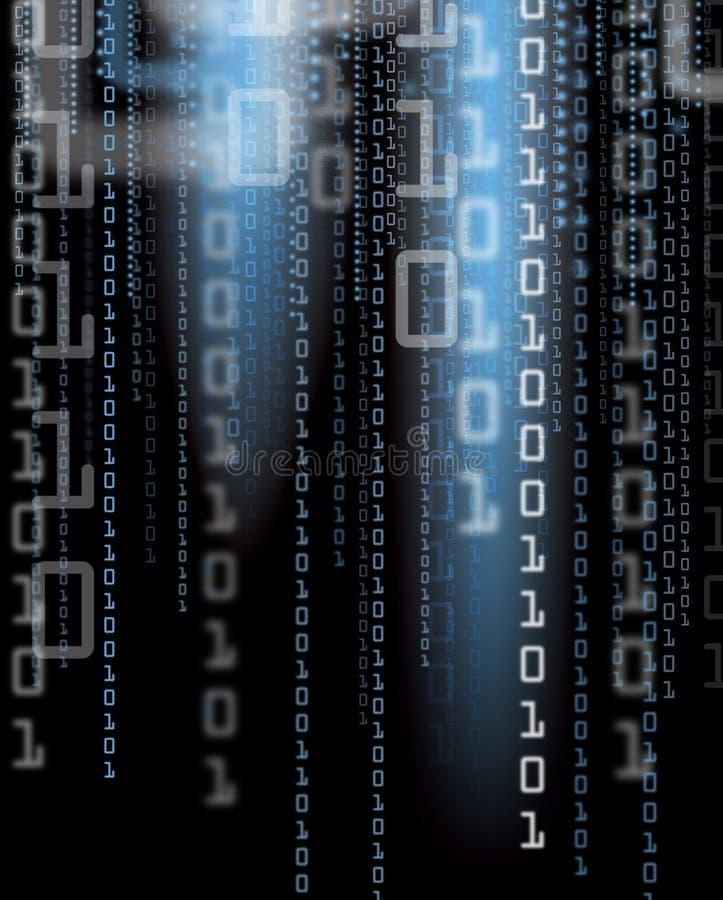 Digital-Hintergrund stock abbildung