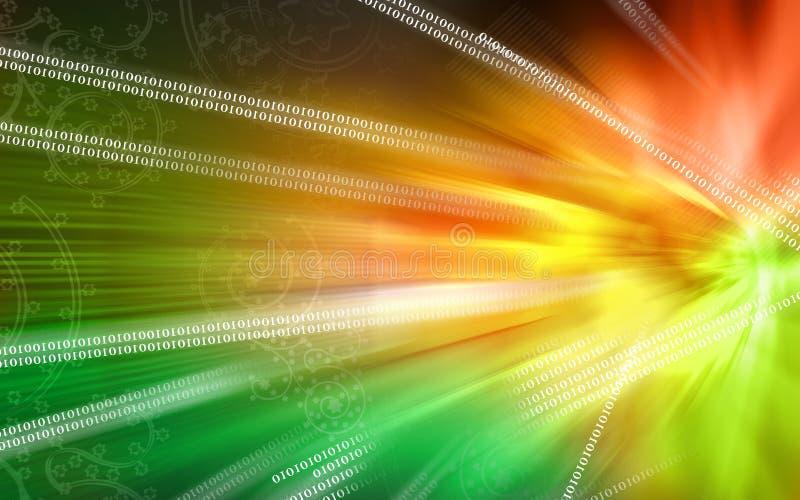 Digital-Hintergrund lizenzfreie abbildung